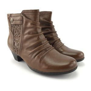 Rockport Womens Cobb Hill Abilene Ankle Boots